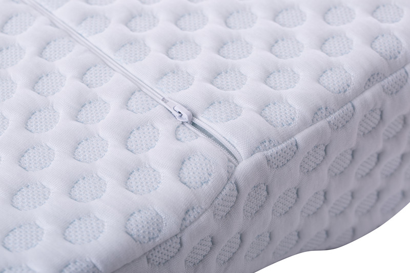 Ventilated Soft Gel Bed Memory Foam Adult Pillow With