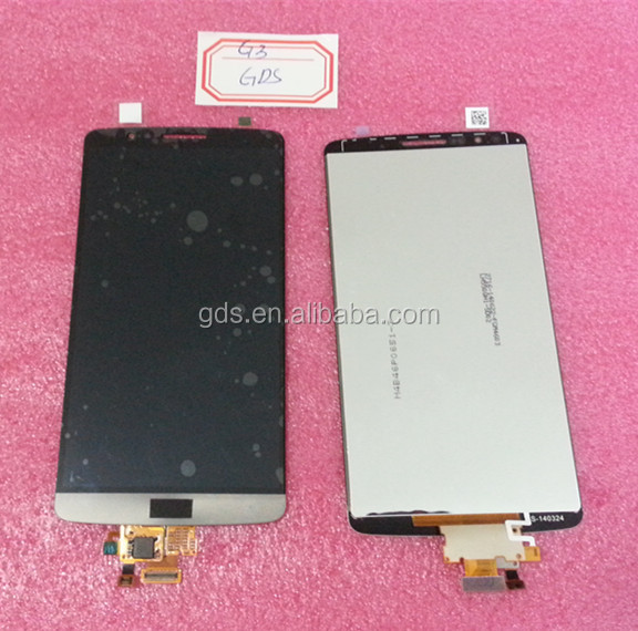 Display LCD Touch screen Digitizer Assembly For LG G3 D850 D851 D855 VS985 Black