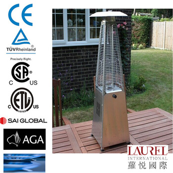 Pyramid Natural Gas Patio Heater With Bar Table Buy Flame Table