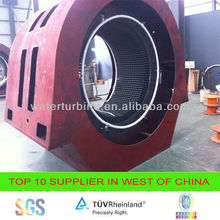 High efficiency water turbine generator for electricity generation power plant