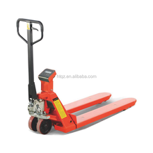 professional factory price hand pallet truck with double brake system & TUV CE certificate