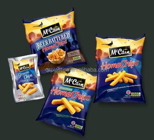 aluminum foil potato chips bag snack food packaging bag