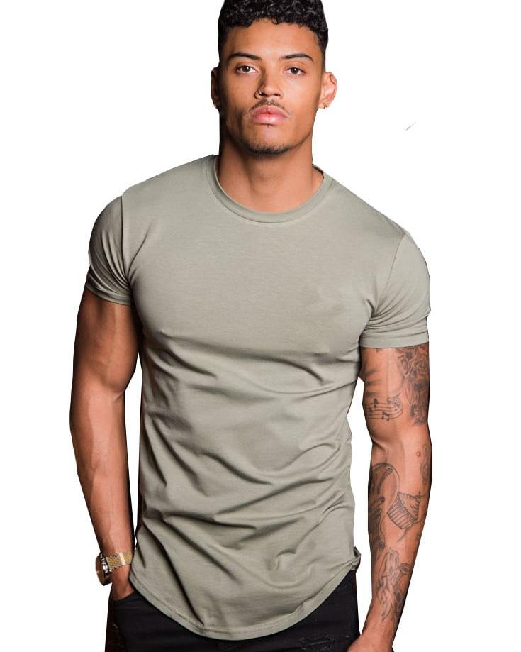 Fitness Cotton Elastine Men Clothes Sportswear Custom