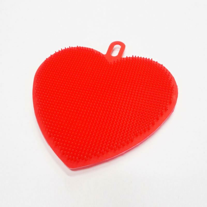 2017 Hot Cosmetic Tool Silicone Makeup Brush Cleaner Heart Shape