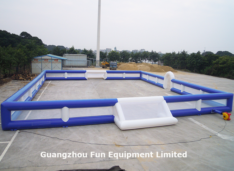 Hot sale popular sport games inflatable soccer field inflatable football arena giant inflatable soccer pitch  for rental