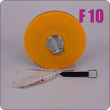 Round PVC fiberglass 20m tape measure, anti drop long measure tape