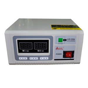 Green Power Relay Type AC Car Battery Voltage Stabilizer