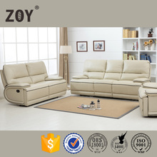 American style Leather Modern 3 2 1 sofa set designs ZOY 9948A