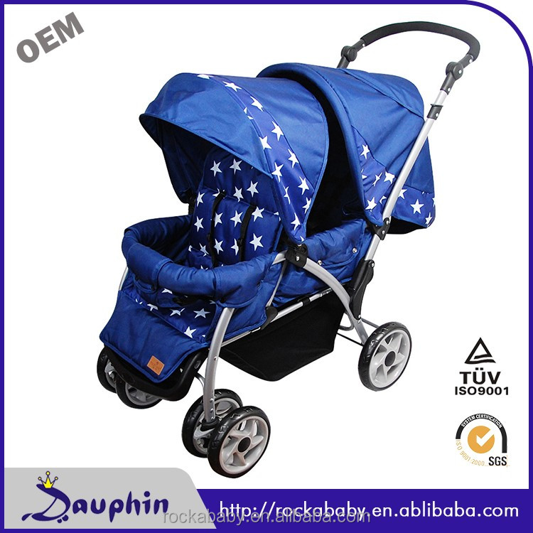 Fashionable twins baby stroller for double stroller sale
