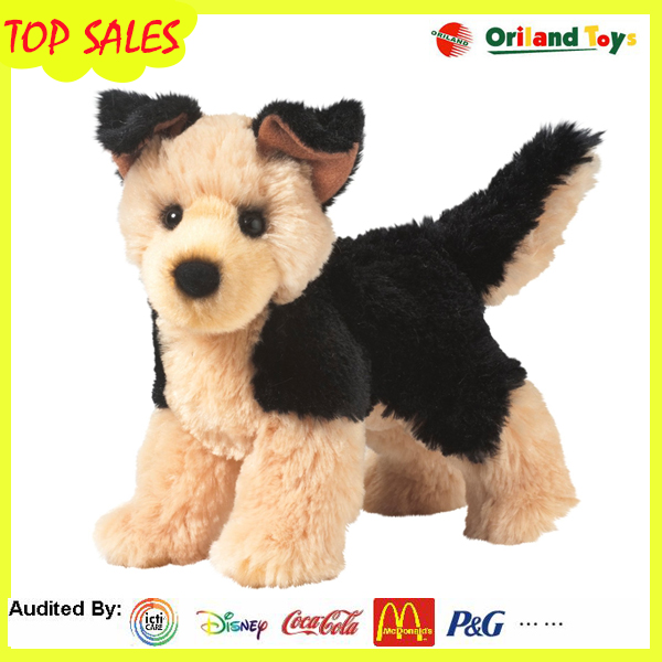 26 years experience Chinese factory OEM service plush dog with FDA certificate