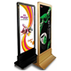 walking billboard free standing magnetic illuminuate electronic led advertising board