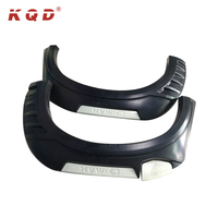 New design auto exterior accessories injection wheel fender for isuzu Dmax d-max fender flares accessories