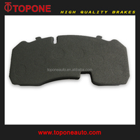 TS16949 OEM manufacturer for MAN vehicle spare parts non asbestos for MAN truck brake pads