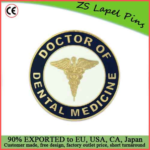 Custom quality novelty gift Doctor of Dental Medicine Pin