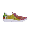 Hot product leaf shape printed active design yielding functional casual sneakers men
