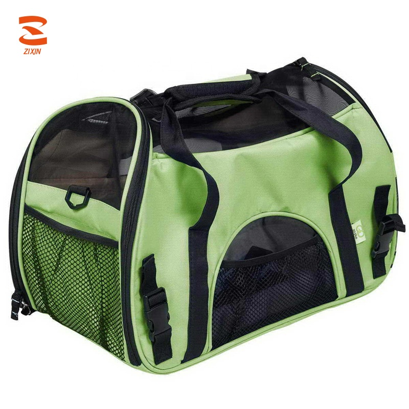 Colorful Cane Borsa per il trasporto Fashion Design Pet Shoulder Carrier Bag