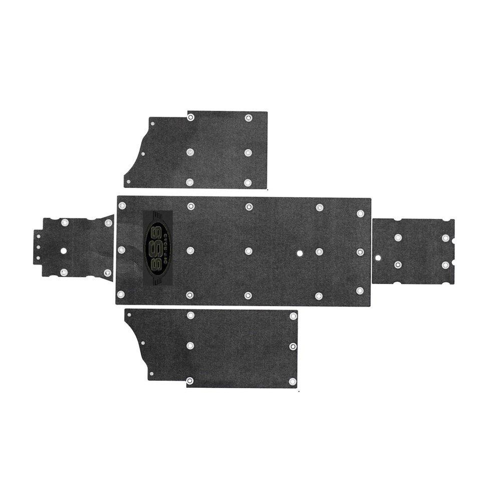 SSS Off Road 1267-PR8X UHMW Vehicle Underbody Skid Plate for Polaris XP 800