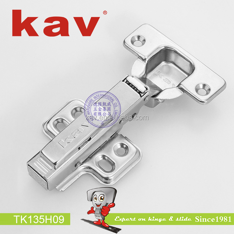 furnutures accessory concealed straight kitchen door hinges easy self close hydraulic hinge for cabinet (TK135H09)