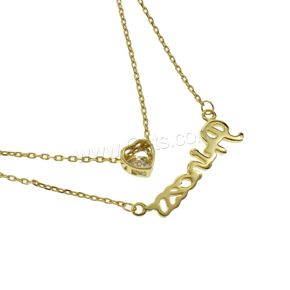 necklace with real chain gold crown pendant jewelry plated nyuki lion fashion