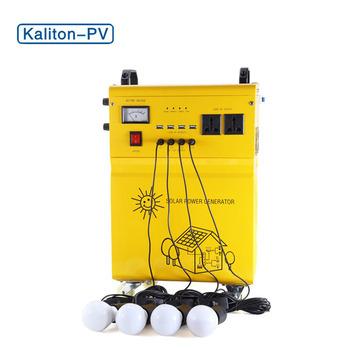 Complete Off-grid Mini Solar Power Portable Equipment Led Lighting Solar  System For Home 50w - Buy Off-grid Mini Solar Equipment,Lighting Solar