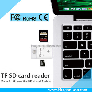 2016 new android usb SD TF mobil card android magnetic smart veding machine chip card reader writer