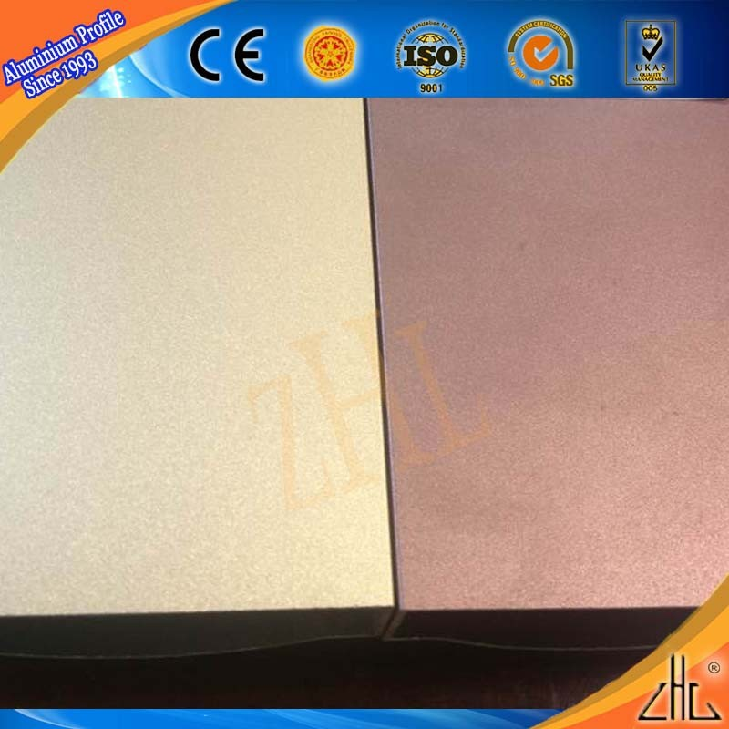 Hot! colorful aluminum decorative trim/ OEM aluminum profile for furniture/ sand blasting extruded aluminum t track