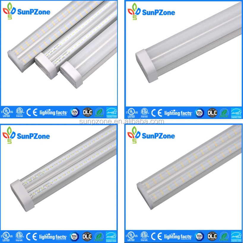 ETL 5ft led integrated fixture led replacement lamps T5 LED tube