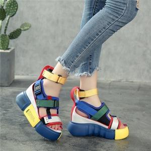 Wholesale newest high quality platform sandals fashion women high platform sandals