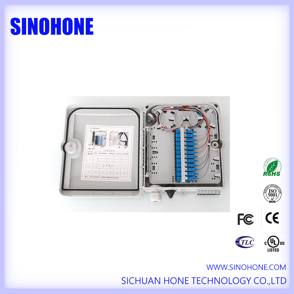 32 Core SPCC Cold Rolled Sheet Fiber Optic Distribution Box