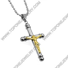 Hot fashion christian products wholesale stainless christian charms/christian jewelry