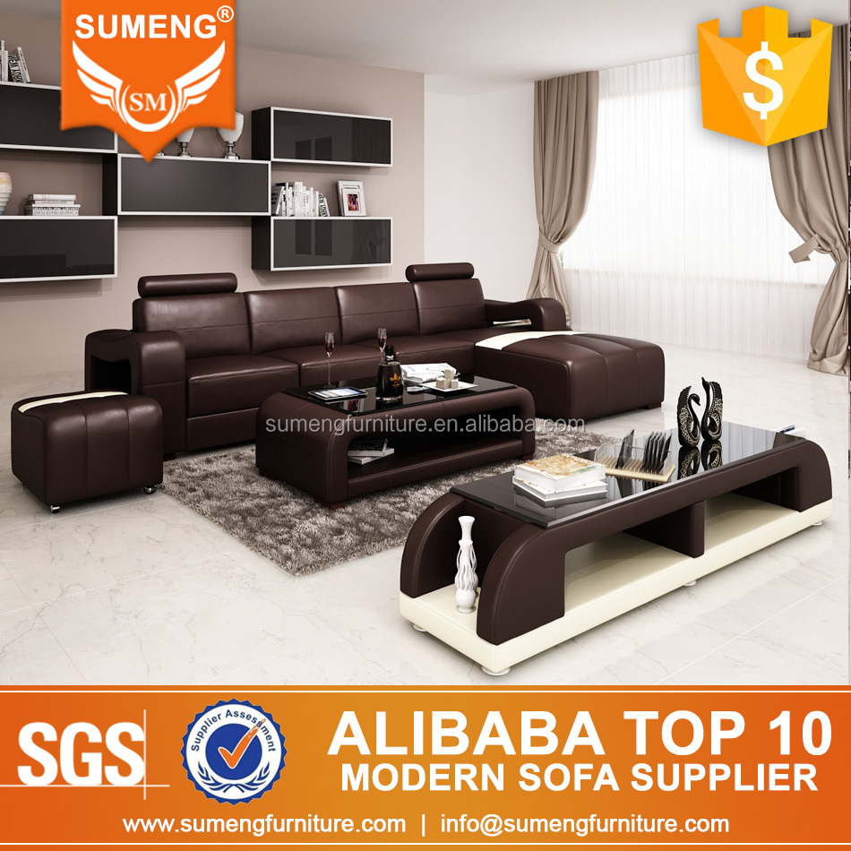 2017 Latest Designs Italian Style Living Room L Shape Sofa Design In