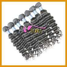 Double layers single drawn weave human hair with many hair styles like body wave/loose wave and others in stock