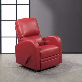 Living Room Recliner TV Chair With Red Color