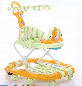 Wholesale Cheap Price 2 in 1 multifunctional Baby Walker With 8 Swivel Wheels
