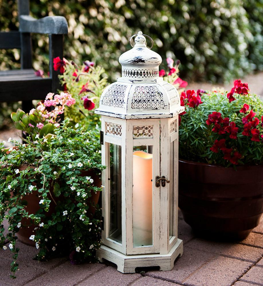 Wholesaler lantern candle holders lantern candle holders for Wooden garden lanterns