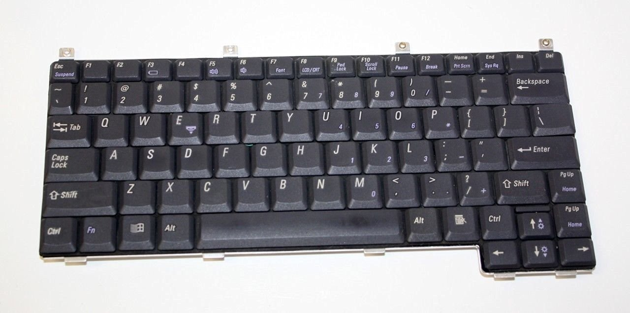 Dell Latitude LS L400 84 Keys Black Keyboard for Laptop 7804T