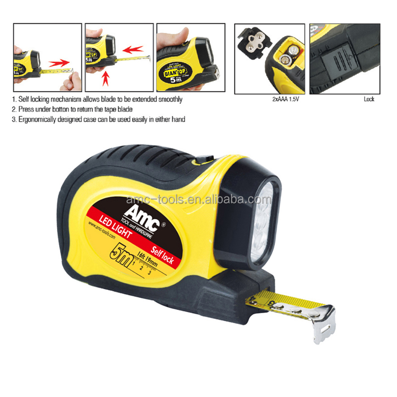 Tape measure with led light tape measure with led light suppliers tape measure with led light tape measure with led light suppliers and manufacturers at alibaba aloadofball Images