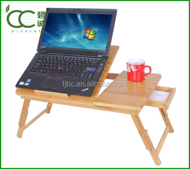 Adjule Bamboo Portable Laptop Desk