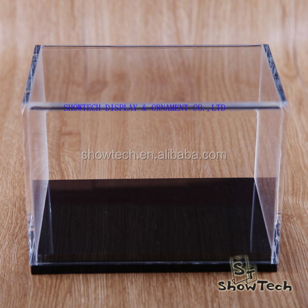 High Quality Fashion Acrylic Display Case Magnets,Toy Model Display Box ST-AF3X14BK-03 Z1