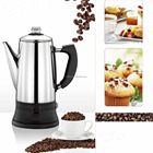 house stainless steel electric espresso coffee maker Moka pot Latte percolator