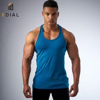 7428f646d8a30e Wholesale Plain Y Back Workout Gym Tank Tops For Men - Buy Plain ...