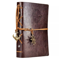 Vintage Leather Journal Travel Planner Personalised Book
