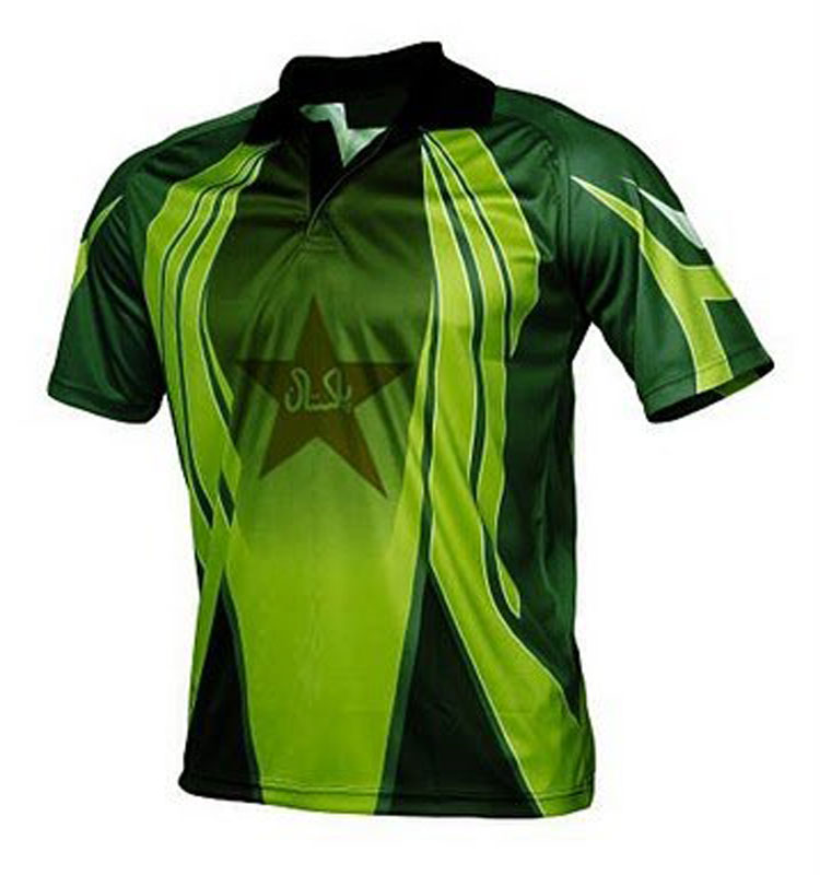 New design india custom sublimation cricket shirt