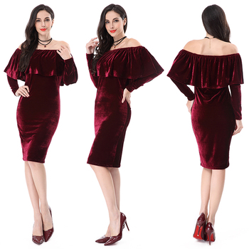9bdc2a090e 2017 Designer Slim Adult Lady Women Cocktail Sexy Girls Tube Party Dress