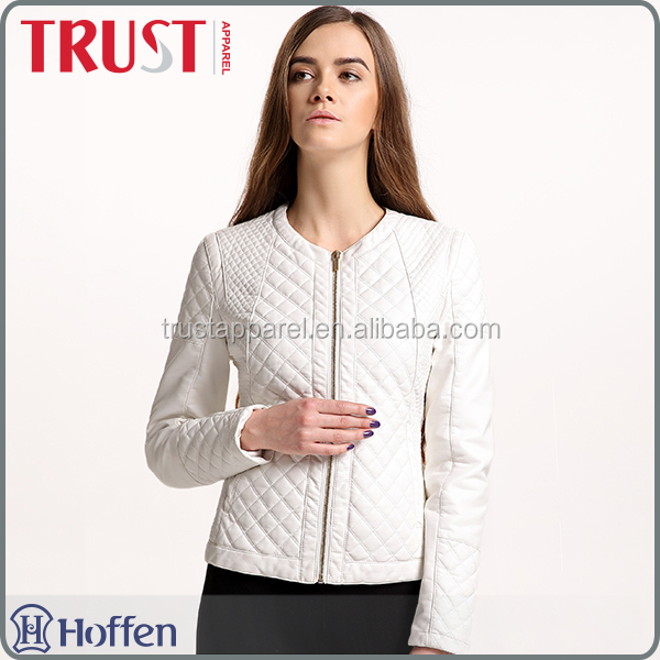 Good quality women clothes warm slim jacket for winter