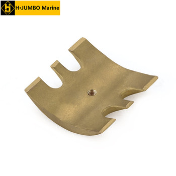 CTR-201202 OEM Maritime flexible water pump copper part
