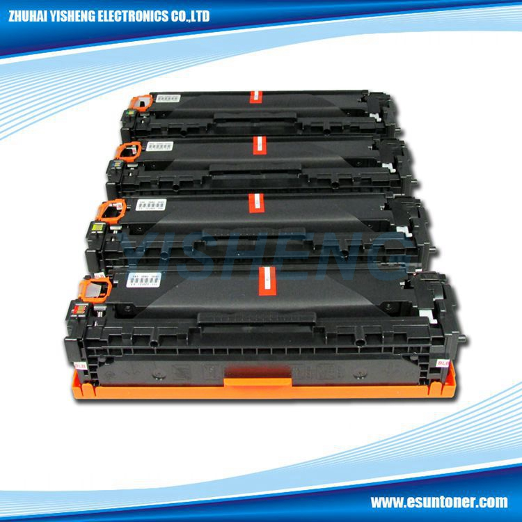 CB540 541 542 543 Color toner cartridge for HP color Laserjet CP1215 CP1515N CP1518NI