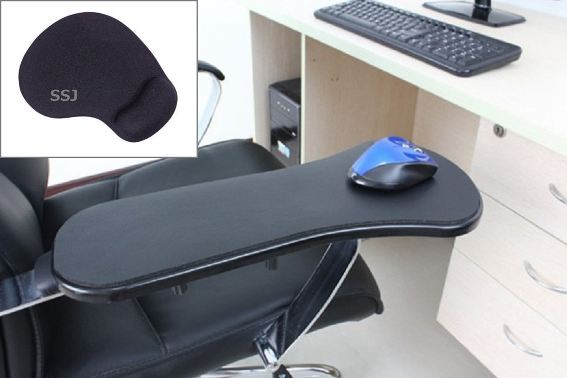 Get Quotations · SSJHome Office Computer Arm Rest Chair Armrest Plus Mouse Pad Mat Wrist Support ( & Cheap Arm In Computer find Arm In Computer deals on line at Alibaba.com