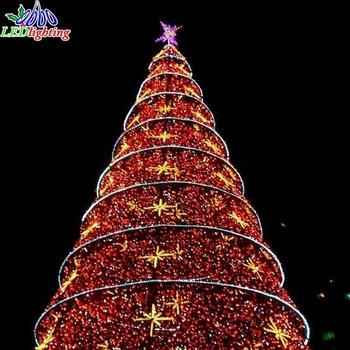 musical giant outdoor lighting christmas tree