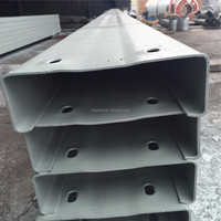 Tianjin factory PRE GALVANIZED steel construction profile z/c/u purlin